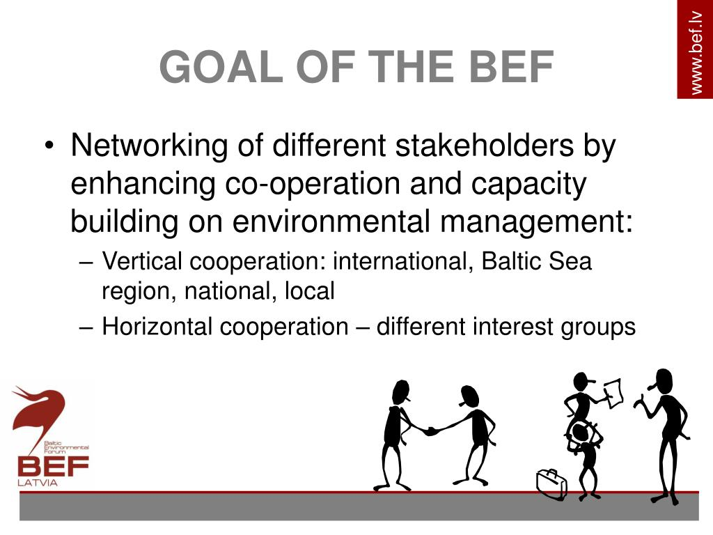 GOAL OF THE BEF