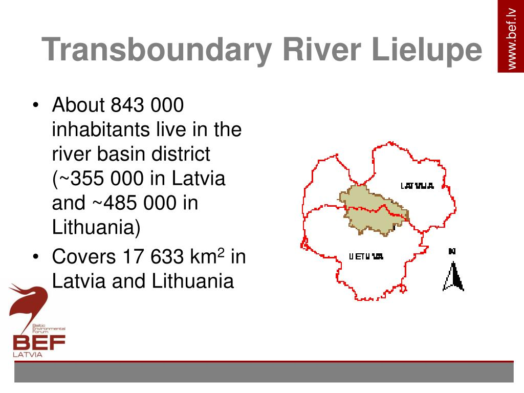 Transboundary River Lielupe