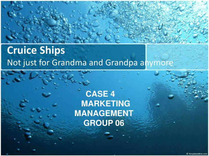cruice ships not just for grandma and grandpa anymore n.