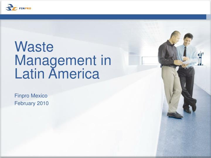 waste management in latin america n.