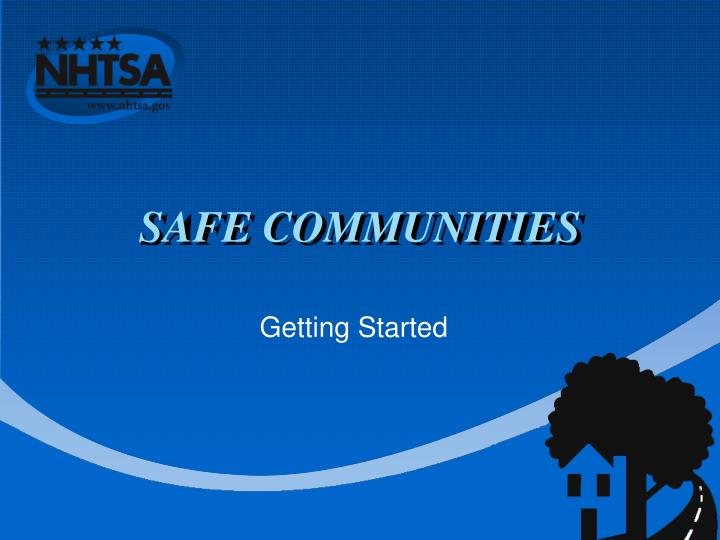 safe communities n.