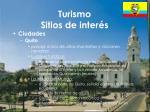 turismo sitios de inter s