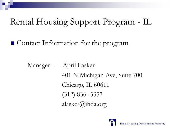 Rental housing support program il