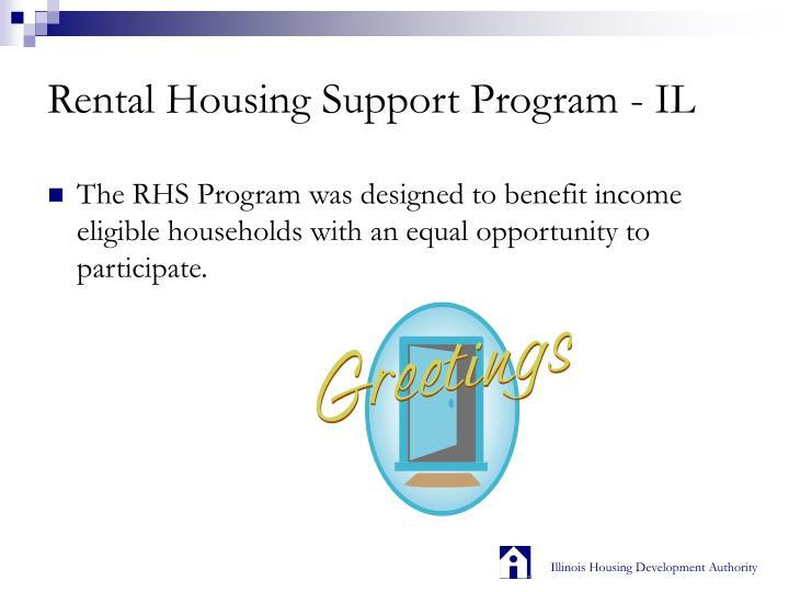Rental Housing Support Program - IL