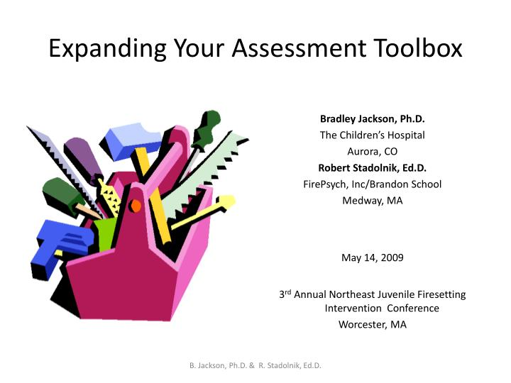 expanding your assessment toolbox n.