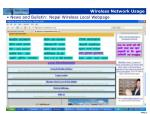 wireless network usage32