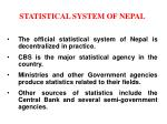 statistical system of nepal