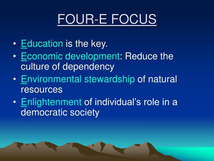 Four e focus