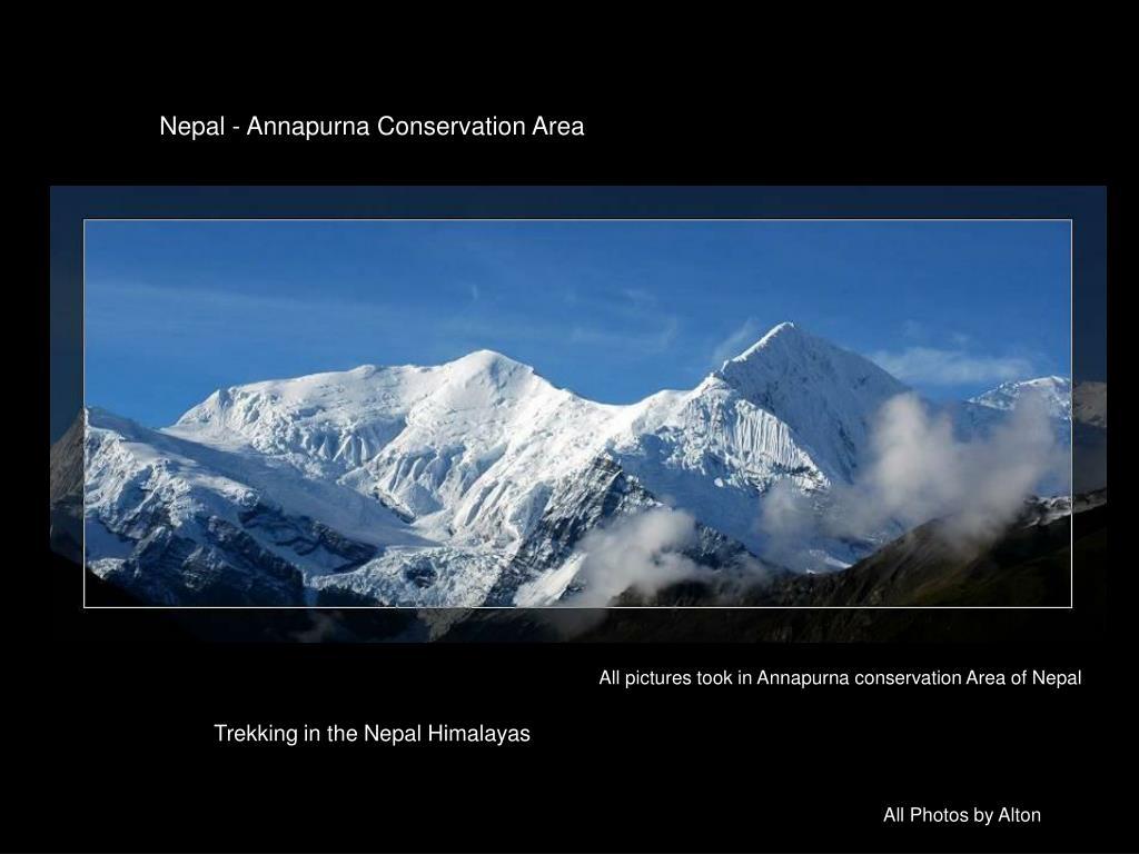 Nepal - Annapurna Conservation Area