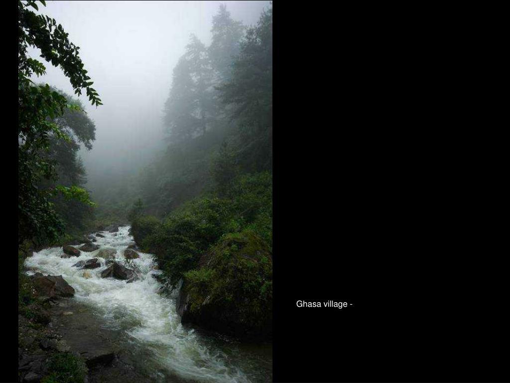 Ghasa village -
