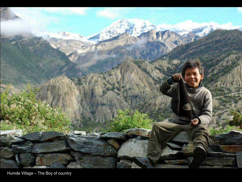 Humde Village – The Boy of country