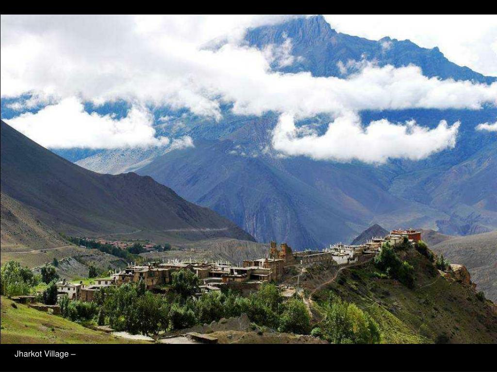 Jharkot Village –