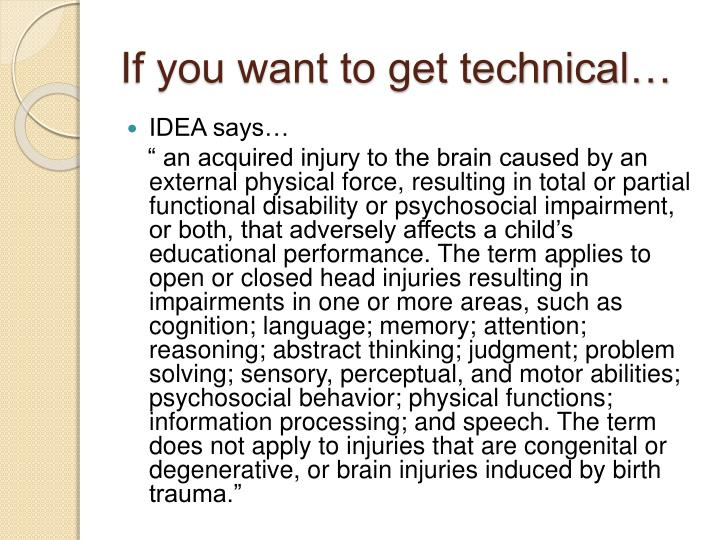If you want to get technical…