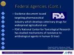 federal agencies cont4