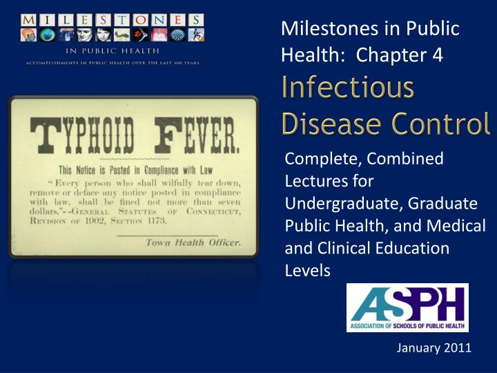 infectious disease control n.