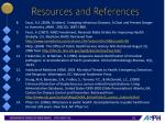 resources and references1