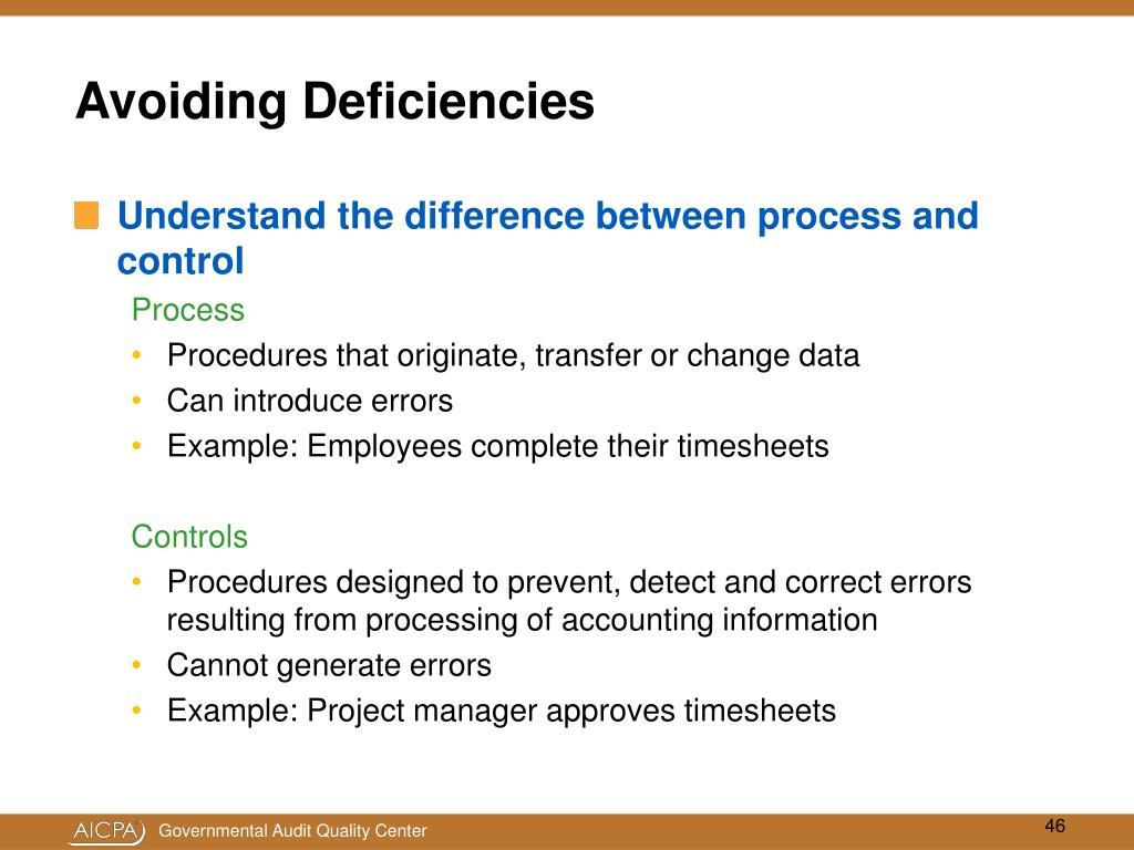 PPT - Internal Control Over Compliance: Getting it Right