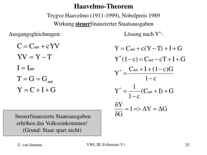 Ausgangsgleichungen: