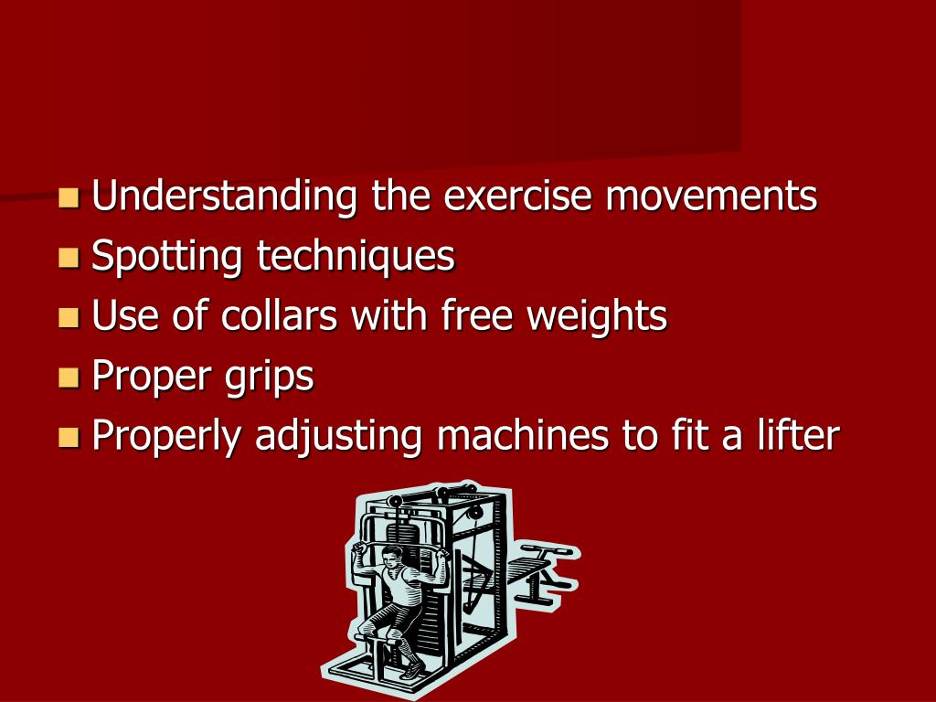 Understanding the exercise movements