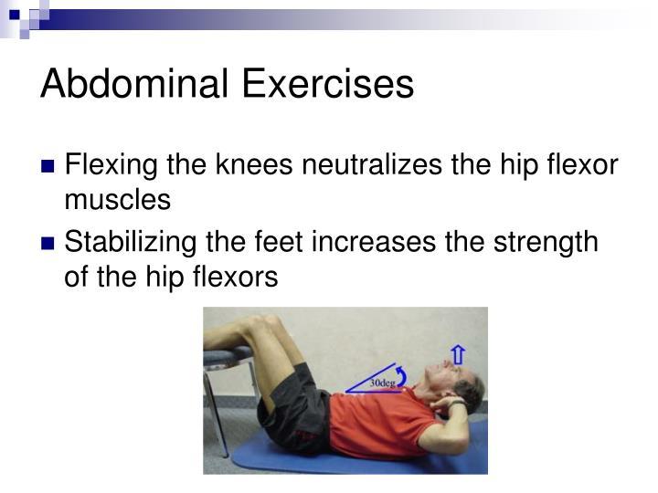 Abdominal exercises3