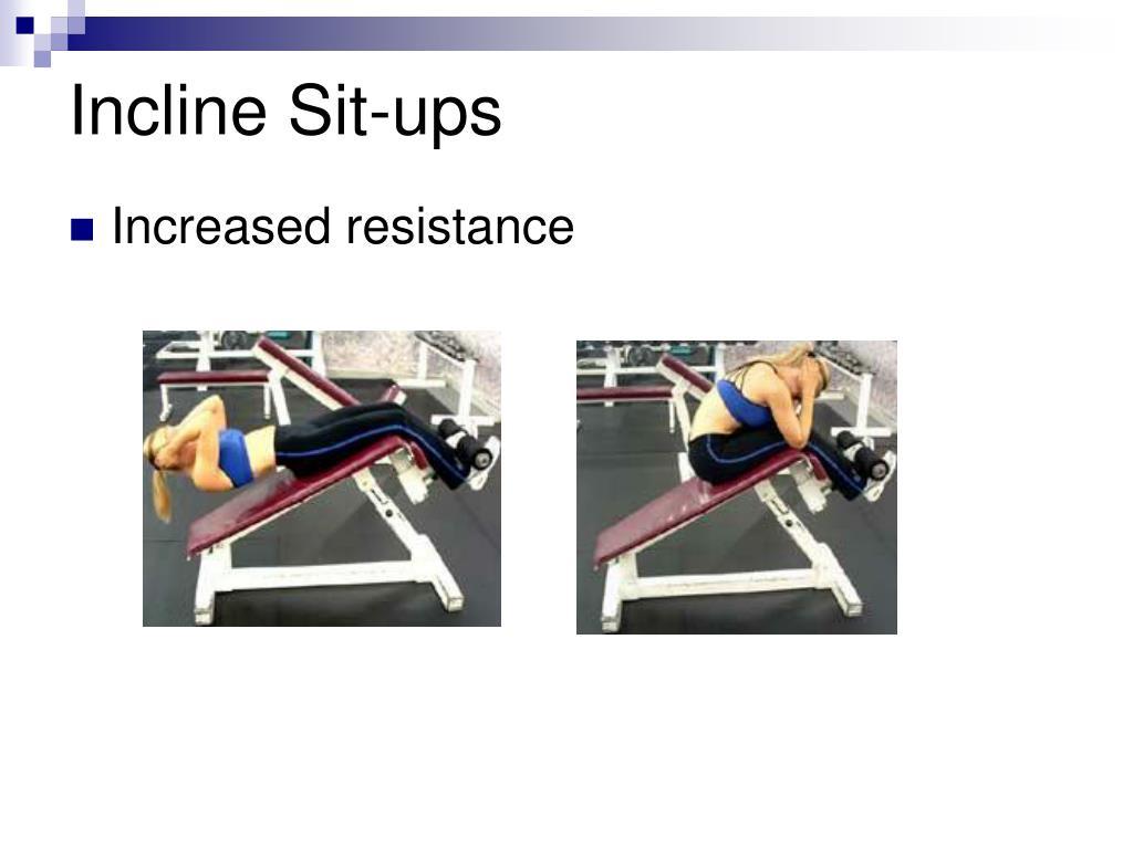 Incline Sit-ups