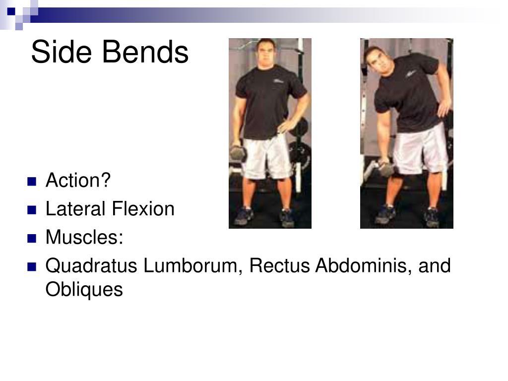 Side Bends