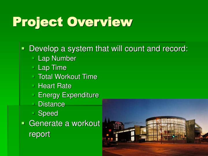 Project overview