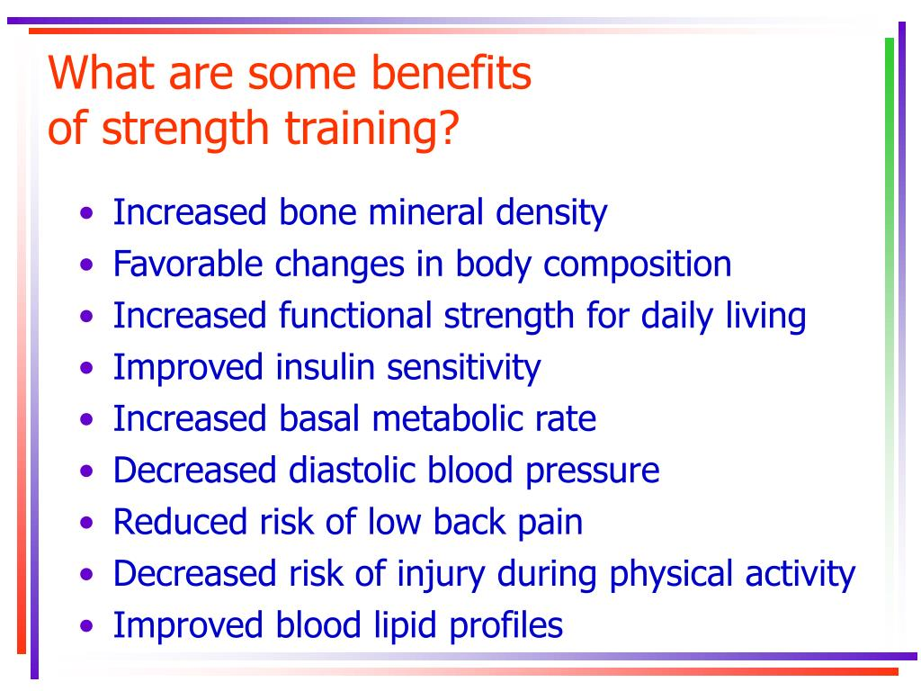What are some benefits