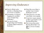 improving endurance