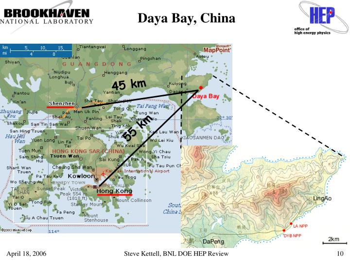 Daya Bay, China