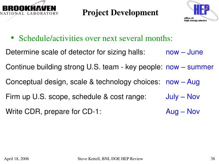 Project Development