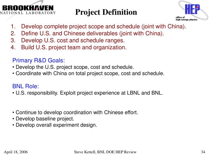Project Definition