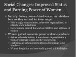 improved status for women The roles of women changed dramatically over the course of history in soviet russia under different leaders and economic and physical conditions.