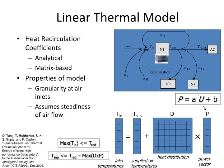 Linear Thermal Model