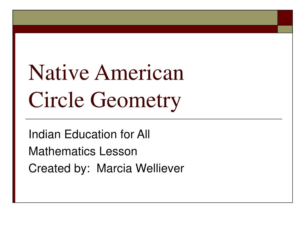 native american circle geometry