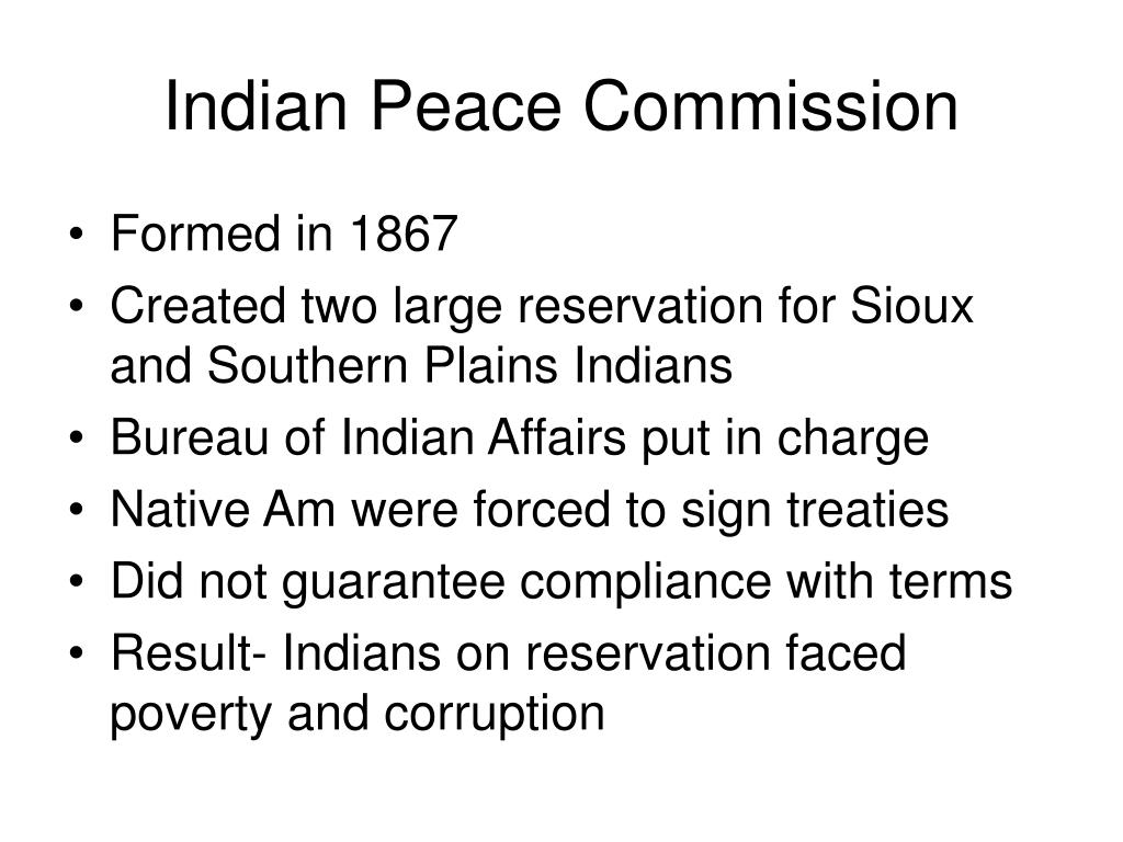 Indian Peace Commission