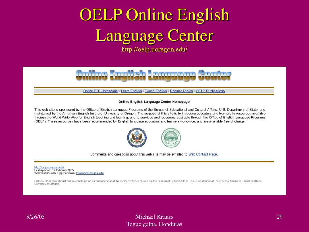 OELP Online English