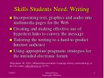 skills students need writing
