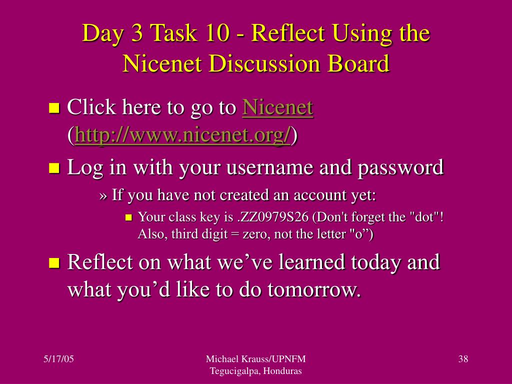 Day 3 Task 10 - Reflect Using the