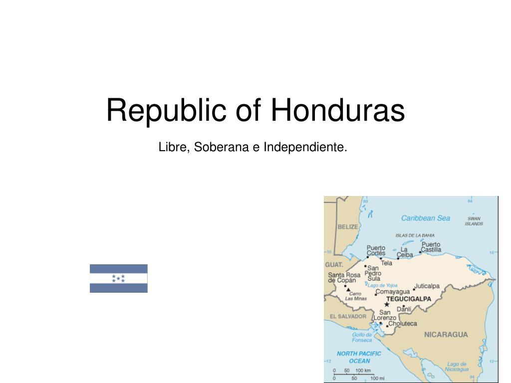 republic of honduras l.
