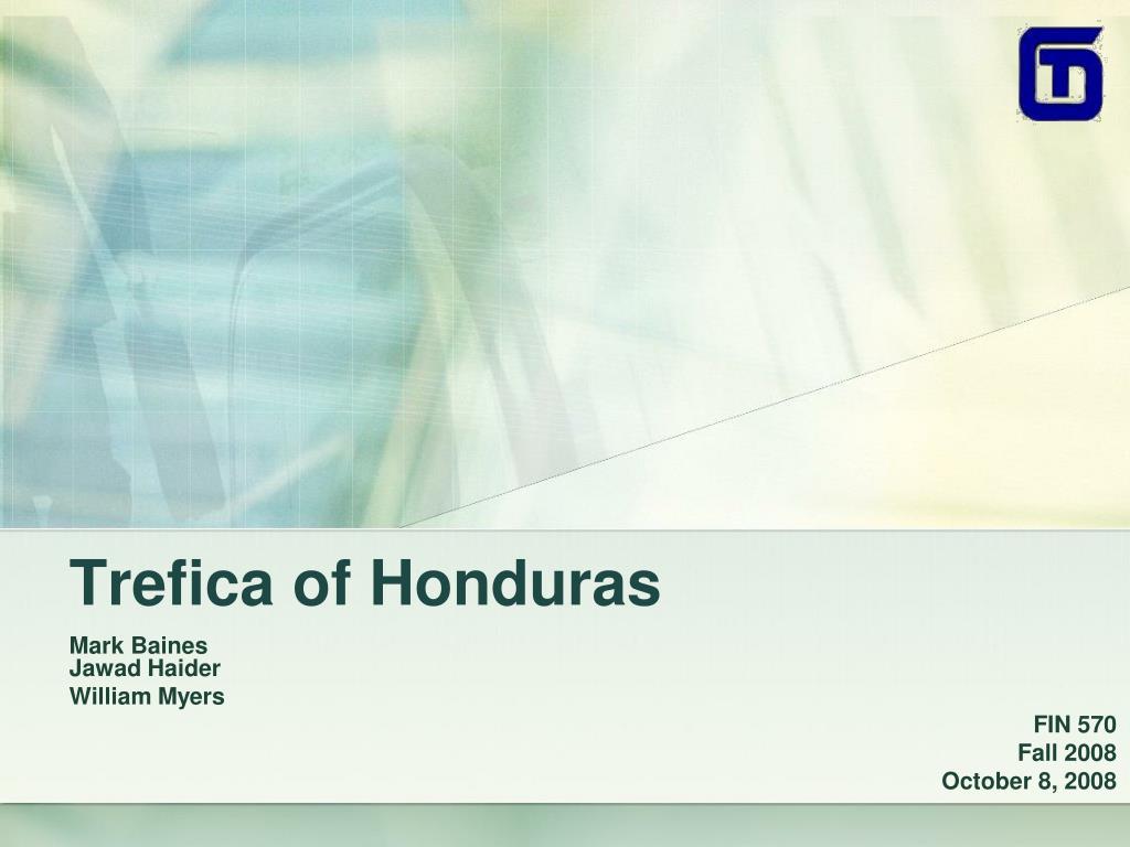 trefica of honduras l.