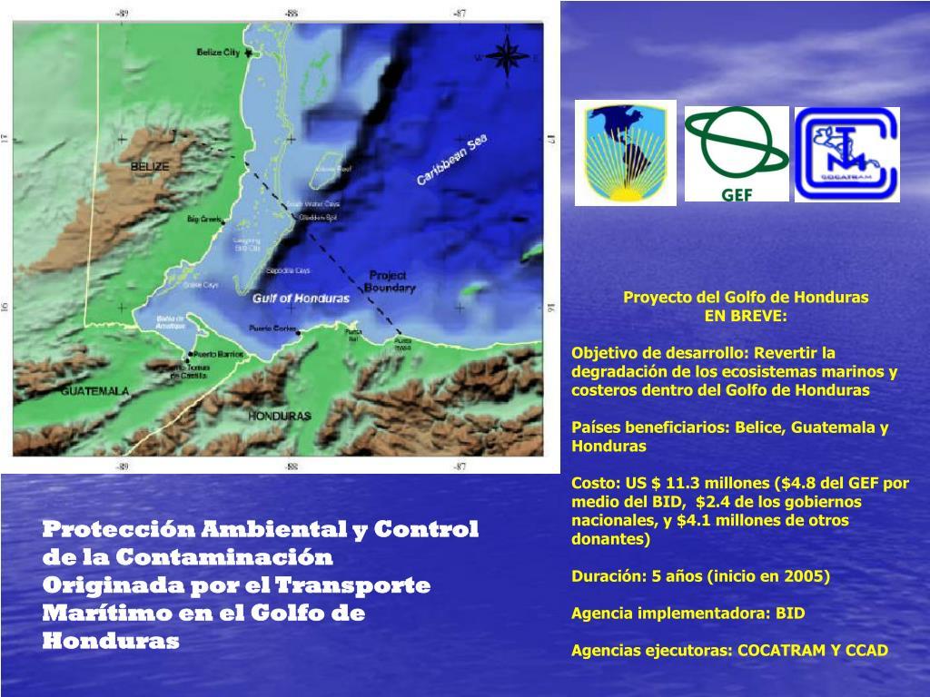 Proyecto del Golfo de Honduras