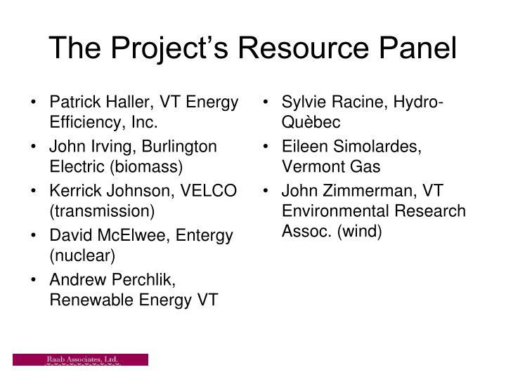 Patrick Haller, VT Energy Efficiency, Inc.