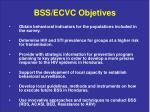 bss ecvc objetives