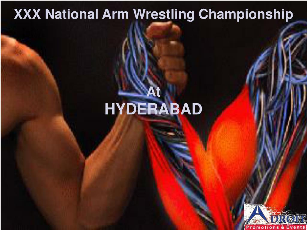 xxx national arm wrestling championship l.