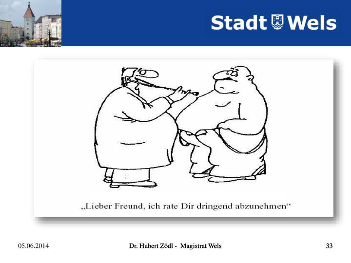 Dr. Hubert Zödl -  Magistrat Wels