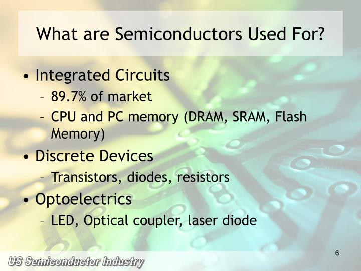 What are Semiconductors Used For?