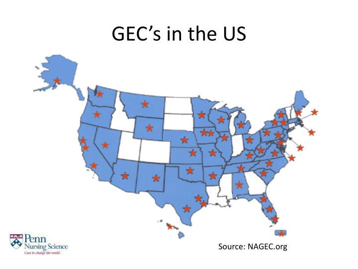 GEC's in the US