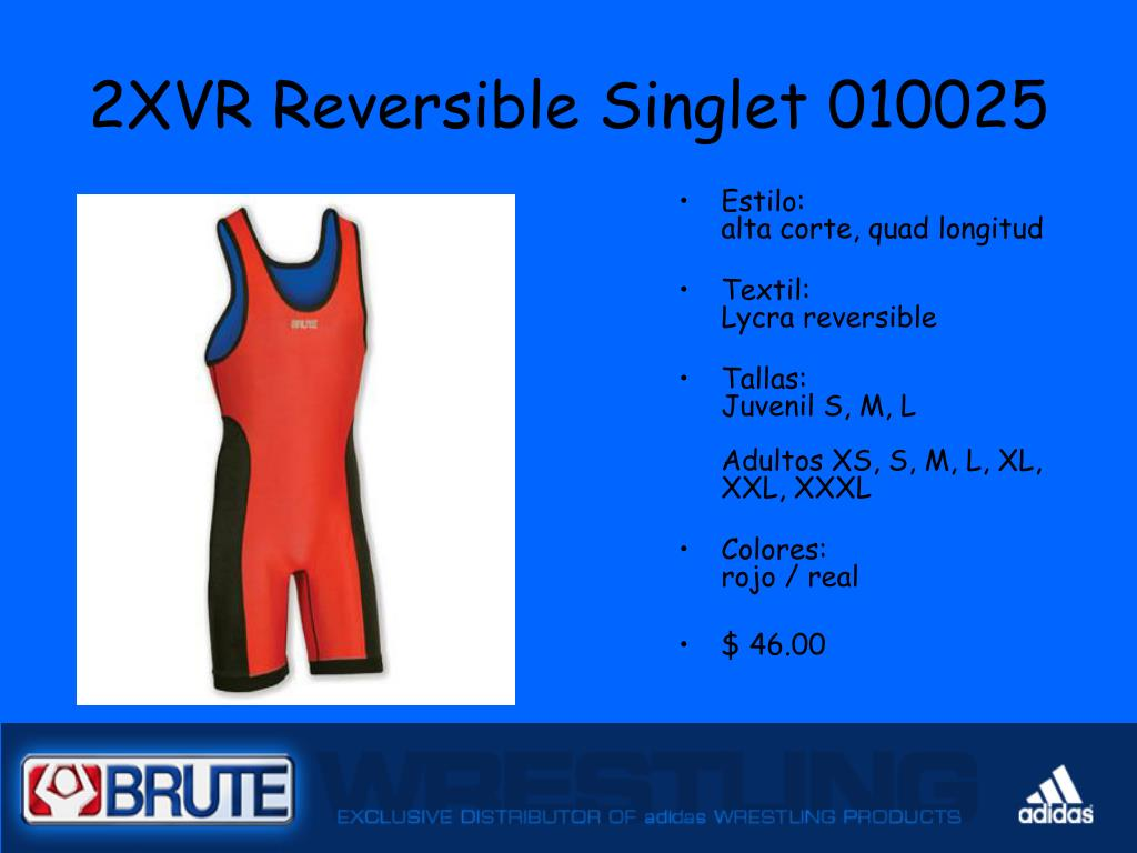 2XVR Reversible Singlet 010025