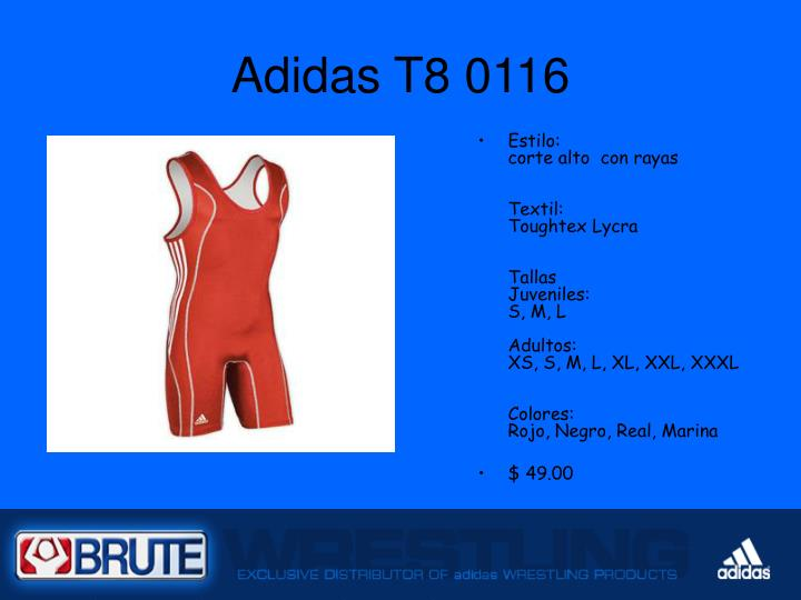 Adidas t8 0116